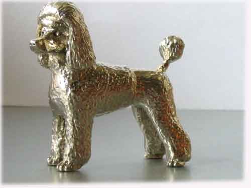 Poodle Puppy Cut Dog Models, Jewellery, Gifts and Ornaments